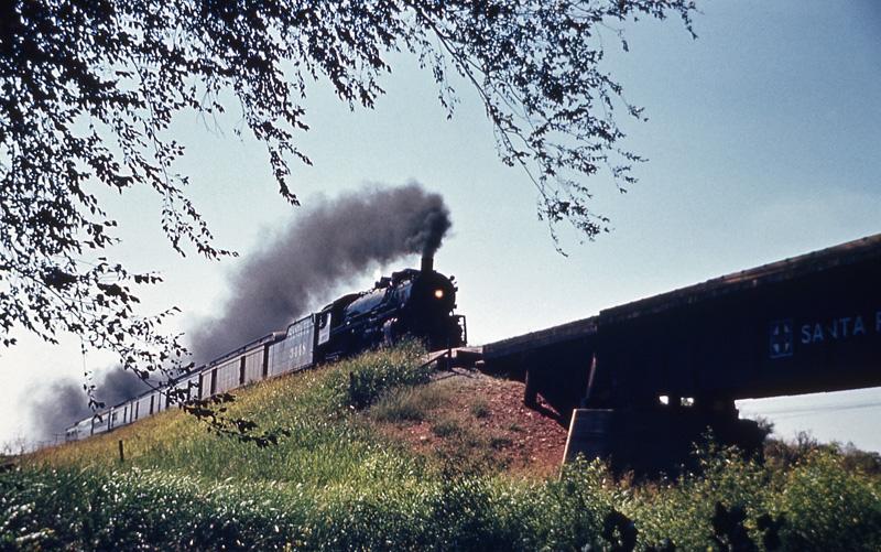 ATSF 4-6-2 #3448 Steam Locomotive