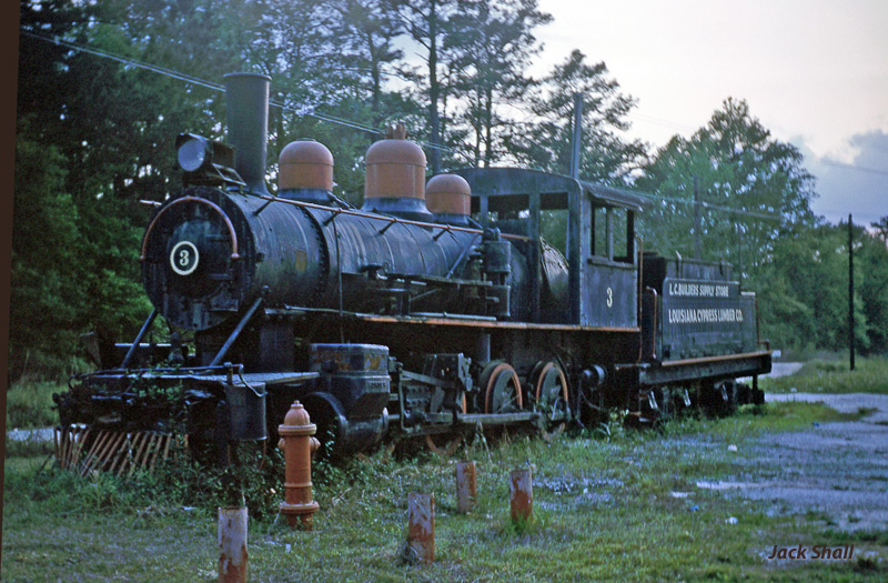 Louisiana Cypress Lbr Co #3 - Early 1960s