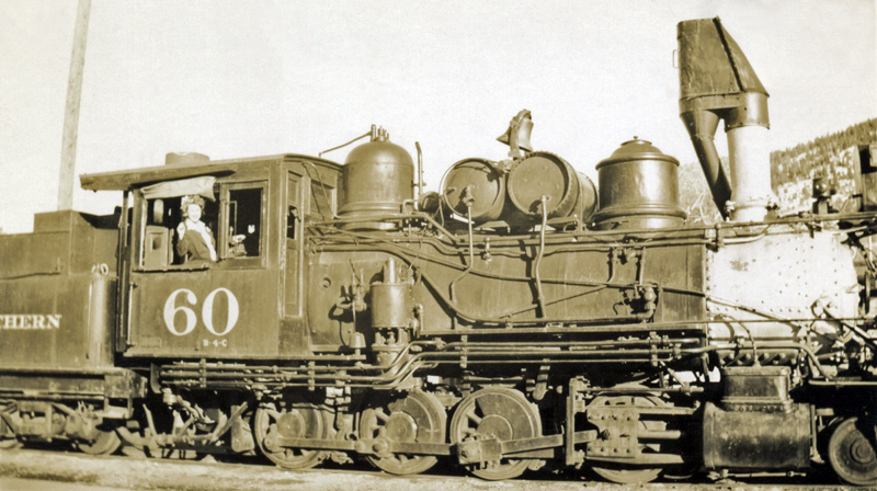 C&S 2-8-0 #60 Early 1940s