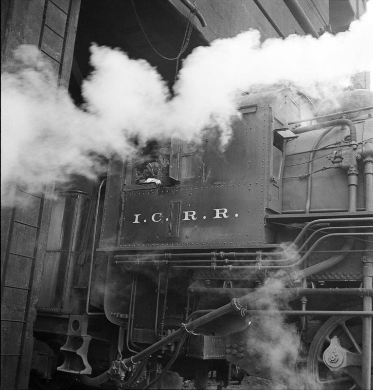 IC Steamer at Coal Chute - 1942
