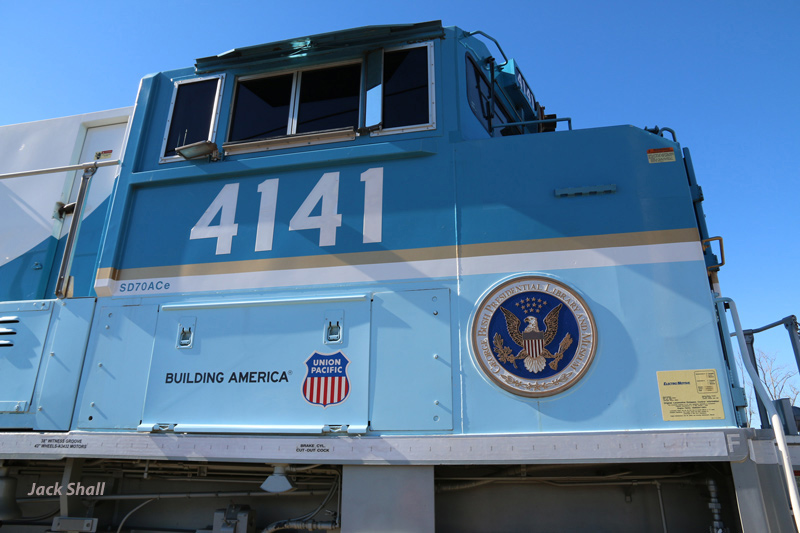 "UP #4141 ""George Bush 41"" Cab"